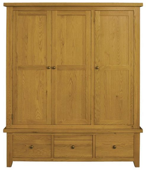 Alterton Furniture Vermont Triple Wardrobe