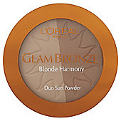 L'Oréal Glam Bronze Duo 101 Blonde Harmony 9g