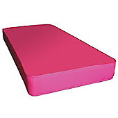 Kidsaw Single Sprung Mattress in Pink