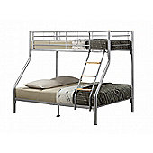 Birlea Nexus Triple Sleeper Bunk Bed - Silver