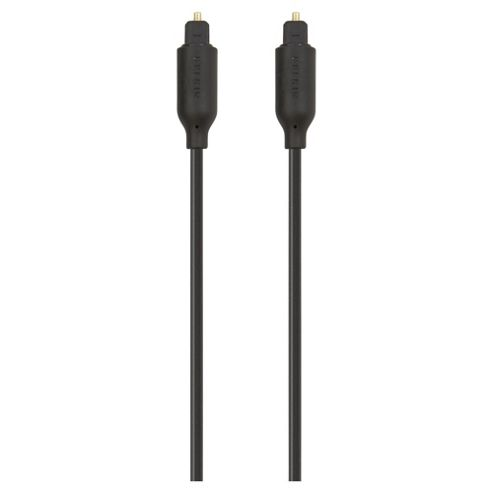 Belkin Digital Optical Audio Black cable 1M multi-channel digital sound