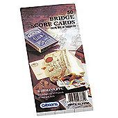 50 Bridge Score Cards