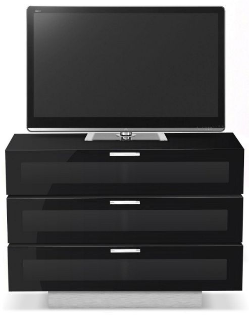 STUK 4001 BL-BA - 3 TV Stand For Up To 50 inch TVs