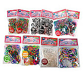 Jacks Loom Bands 10 Pack Bundle
