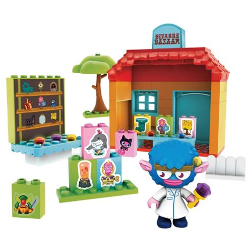 Mega Bloks Moshi Monsters Bizzarre Bazaar Playset