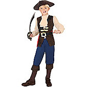 Pirate Boy Jack - Child Costume 10-12 years