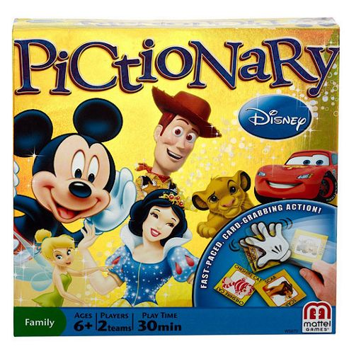 Disney Pictionary Board Game