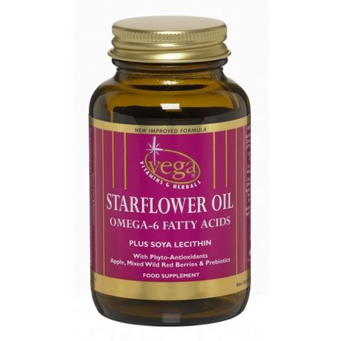 Vega Soya lecithin+Starflower oil dry 30 Veg Capsules