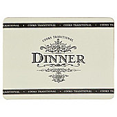 Tesco Cooks Traditional Set of 4 Placemats
