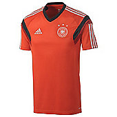 2014-15 Germany Adidas Training Shirt (Red) - Red