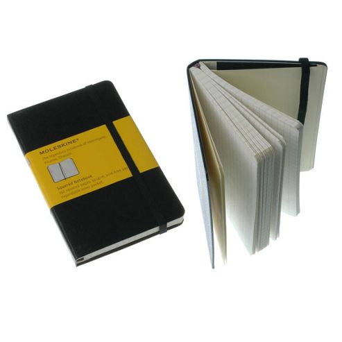 Moleskine Classic Pocket Squared Notebook