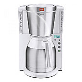Melitta 101115WH Look Therm Timer Filter Coffee Maker 15 Cup Capacity in White