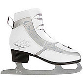 Lake Placid 401 Figure Ice Skates - White