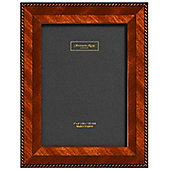 Addison Ross Marquetry Brown Rope Fibre Back Photo Frame - 5 in x 7 in