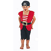 Pirate - Toddler Costume 2-3 years