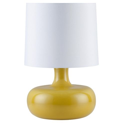 Tesco Lighting Positano Ceramic Table Lamp Citron
