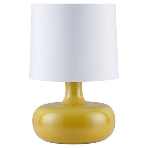 Tesco Lighting Positano Ceramic Table Lamp Citron