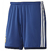 2014-15 Argentina Away World Cup Football Shorts (Kids) - Blue