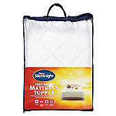 Silentnight Cosy Nights Mattress Topper Kingsize