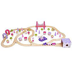 Bigjigs Rail BJT023 Fairy Town Train Set