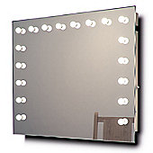 Hollywood Makeup Dressing Room Mirror with Cool White Dimmable LED lamps k93CW