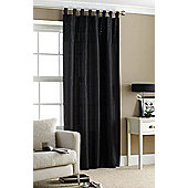 Black Sequin Embroidered Curtain