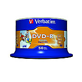 DVD-R Printable 50-Pack