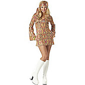 Disco Dolly 70S Costume Large