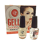 W7 Gelly Sandwich Gel Base & Top Coat Nail Polish Set