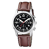 M-Watch Aero Mens Leather Chronograph, Date Watch A689.30408.01