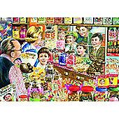 The Little Sweet Shop Puzzle