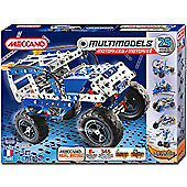 Meccano Multimodels 25 Model Motorized Set - Off Road Vehicle 6024139