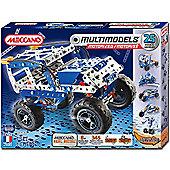 Meccano Multimodels 25 Model Motorized Set - Off Road Vehicle 6024139