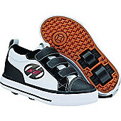 Heelys Stingray White/Black/Red Heely Shoe