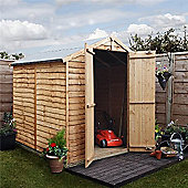 BillyOh 20 Rustic Overlap 6x6 Windowless shed