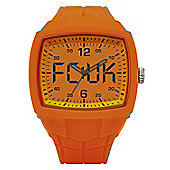 French Connection FCUK Mens Silicone Watch FC1141O