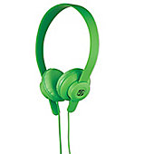 Scosche lobeDOPE On Ear Headphones (Green)