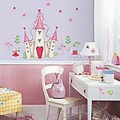 Chilrens Wall Stickers - Princess Castle