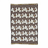 Large Hanging Fabric Dog Design Christmas Advent Calendar