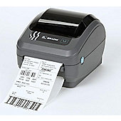 Zebra GK420d Direct Thermal Printer 203dpi 8 dot Print Width 104mm Serial, USB, ZPL, ZPL II + 10/100 Ethernet + Power Supply