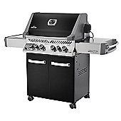 Napoleon Prestige 500 BBQ with Infrared Side and Rear Burners in Black