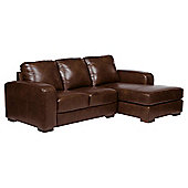 Idaho Corner Sofa Right Hand Facing, Antique Chestnut