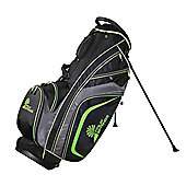 Palm Springs Golf Tour Premium Stand Bag Black/Green