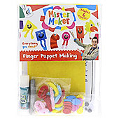 Mister Maker Finger Puppet Making
