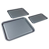 Tesco Non Stick Oven Trays 3pk