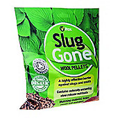 Vitax Slug Gone - Organic Wool Pellets for Plant Protection - 10 Litres