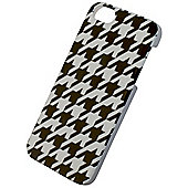 Tortoise™ Look Hard Protective Case iPhone 5/5S Black & White