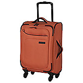 IT Luggage Megalite 4-Wheel Suitcase, Coral Rose Small