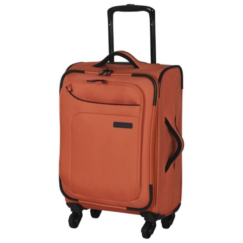 buy it luggage megalite 4 wheel small coral rose suitcase. Black Bedroom Furniture Sets. Home Design Ideas