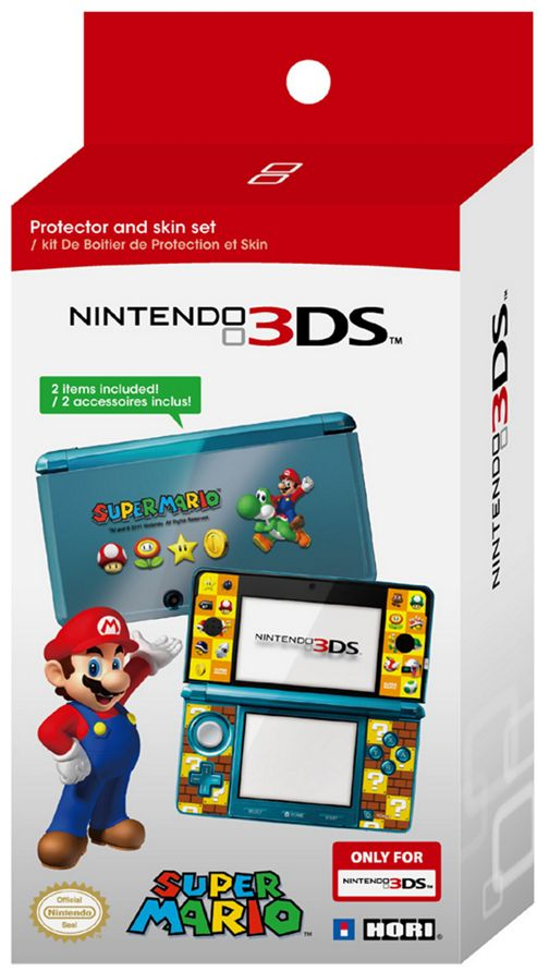 3DS Mario Protector & Skin